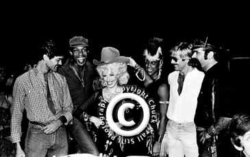 Dolly Parton & The Village People, Feb.1979